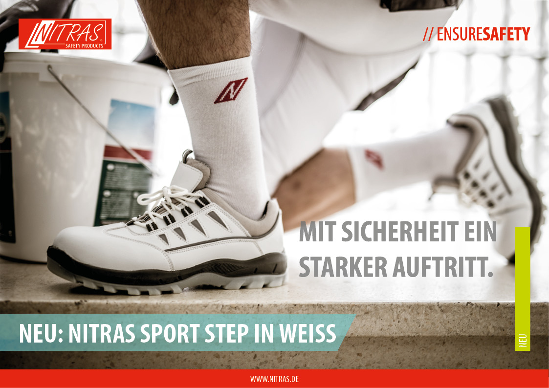 NITRAS SPORT STEP IN WEISS