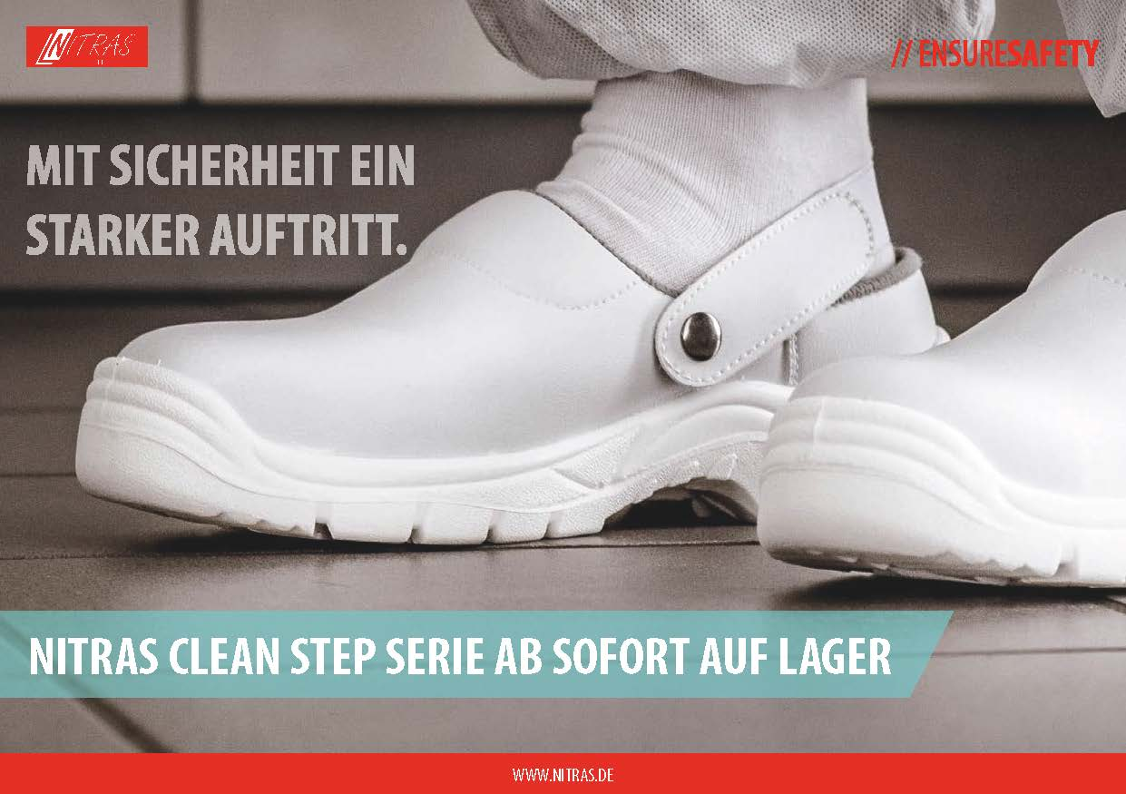 NEW: NITRAS CLEAN STEP ARE IN STOCK NOW