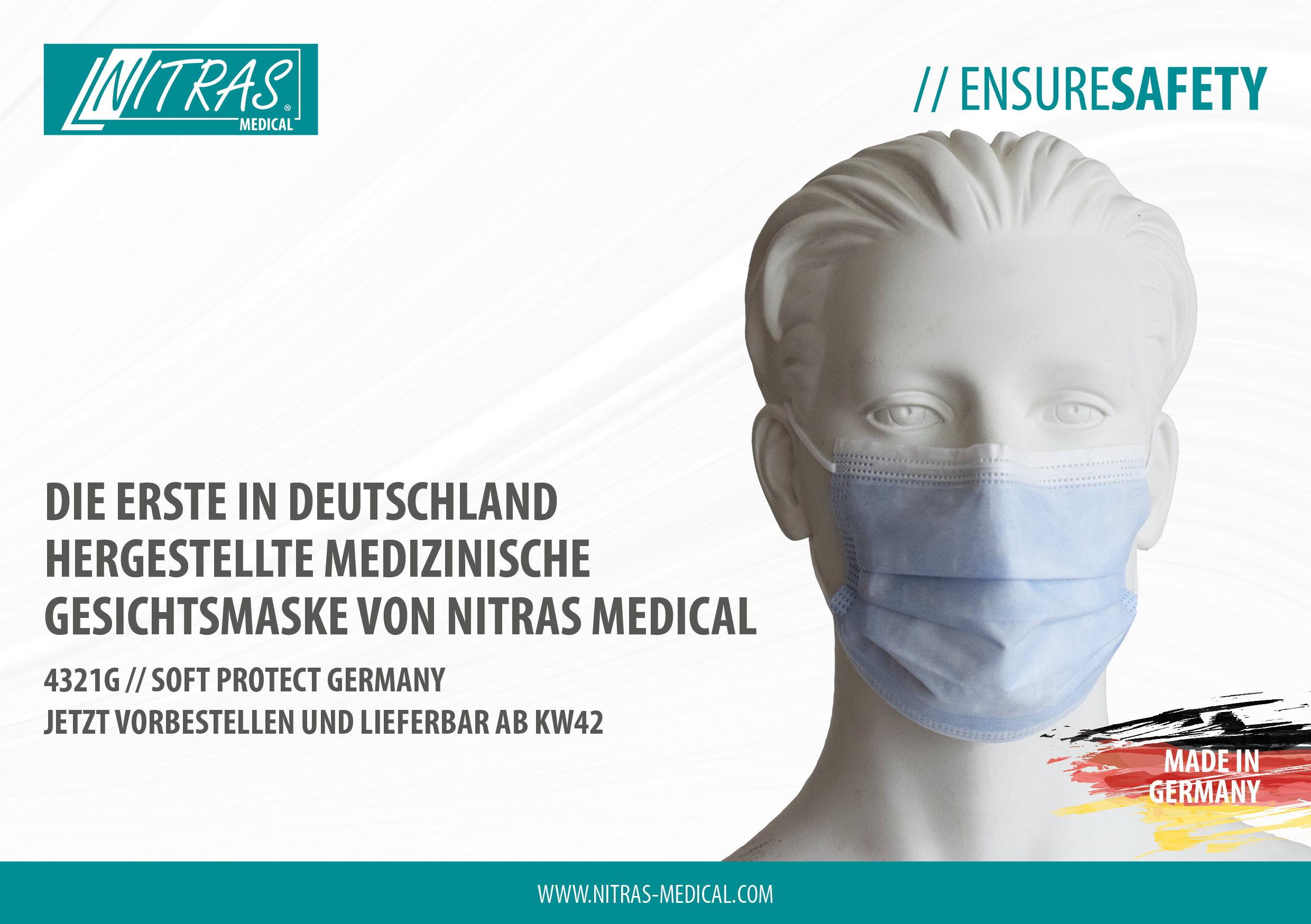 NITRAS MEDICAL: Medizinische Gesichtsmaske made in Germany